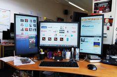 web designers desk images