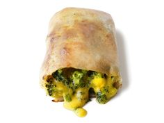 Broccoli-Cheddar Pockets : Toss chopped broccoli florets with cheddar, sour cream and chives to make a tasty and nutritious filling for savory dinnertime turnovers that bake in just 15 minutes.