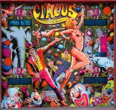 Circus Backglass