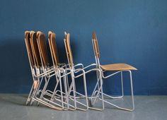 Aluflex-Stühle von Armin Wirth