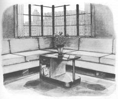 Vintage 1937 Art Deco Modern Coffee Table Wood Work Plans PDF