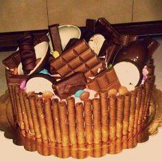 τούρτα γενεθλίων birthdaycake Tiramisu, Cakes, Birthday, Ethnic Recipes, Desserts, Food, Tailgate Desserts, Deserts, Essen