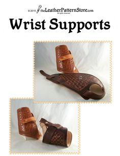 Handgelenk Unterstützung man Muster von leatherpatternstore