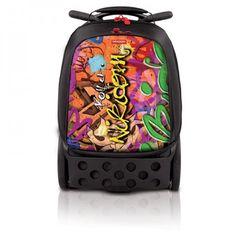 #bebe Nikidom Roller escolar Graffiti