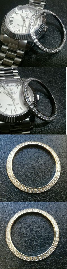Bezels and Inserts 57714: Lab Diamond Bezel For Rolex Day-Date Ii Datejust 41Mm 40Mm -> BUY IT NOW ONLY: $75 on eBay!