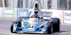 Jacques Laffite - Ligier JS5 Matra MS73 - Ligier Gitanes - II Grand Prix of Long Beach - 1976 FIA Formula 1 World Championship, round 3 - Motor Sport Magazine