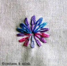 Awesome site for learning basic embroidery techniques! Makes me want to start up again...right after the cross-stitching knitting crocheting sewing....