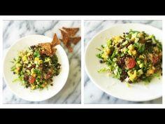 The Ultimate Taco Salad with Persimmon Avocado Salsa (Vegan & Gluten Free) www.julieslifestyle.com #RawFood #RawVegan #Vegan #GlutenFree #MexicanFood
