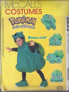 Bulbasaur costume