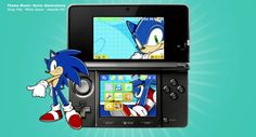 Get an Sonic theme for your Nintendo 3DS! Available now in the Nintendo eShop.