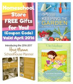 Homeschool Store FREE Gifts for You! {Coupon Code}
