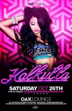 DJ Kalkutta is back at Oak Lounge Milwaukee Saturday October 26th!