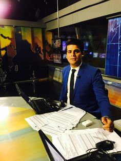 #anchors #morning #bulletin #news #bluesuits Asher Alam
