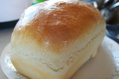 Basic White Bread - Little House on the Prairie Living