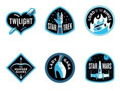 Fanbase Badges by Matt Stevens