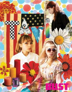 Tavi Gevinson of Rookie, in a gorgeous collage. Check out our Dec/Jan issue for the full interview!