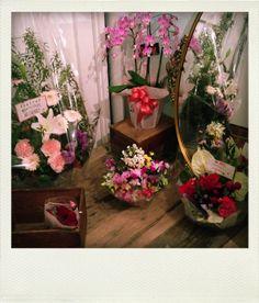 たくさんお花を頂きました♡