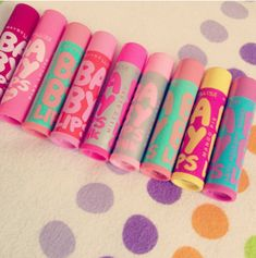 Baby Lips - does anyone know what flavours these ones are, or has anyone found a flavours list of these ones? Pllllleeeeeaaase comment!