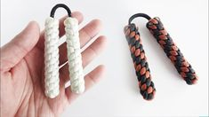 How to Make Paracord Mini Nunchucks | Skill Toy / Fidget Toy Tutorial - YouTube