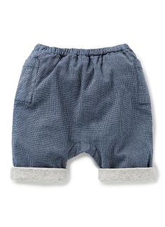Baby Boys Pants & Shorts | Mini Check Pant | Seed Heritage