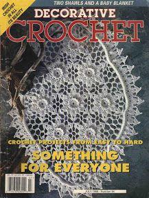 Decorative Crochet Magazines 36 - claudia Rabello - Álbumes web de Picasa