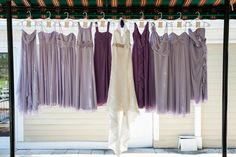 Lavender Rustic Wedding by Holly Frazier Photography - KnotsVilla
