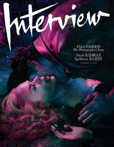 "Interview US Setembro 2014   ""The Photographers Issue""    Nicole Kidman por Steven Klein"