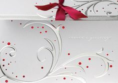 HOLIDAY GLAM  Gimmick package with sherry ribbon. See more at: http://greetingcardcollection.com/products/holiday-cards-holiday-greetings/569-holiday-glam