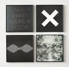 Your favorite album covers, transformed into vintage wall art.