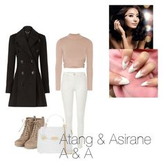 """""""Untitled #32"""" by asirane-nyame on Polyvore featuring River Island, Jonathan Simkhai, Burberry and Versace"""