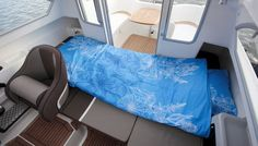 With the Yamarin 68 Cabin, you can begin the boating season right after the thaw and continue until the water freezes, travelling comfortably inside the cabin. Septic Tank, Boater, Power Boats, Interior Lighting, Ds, Cabin, Motor Boats, Cottage, Cabins