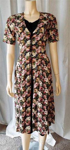 $25 Vintage Retro grunge 90s starina floral corset maxi dress