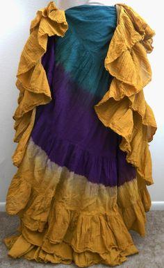 Golden Peacock 25 Yard Skirt