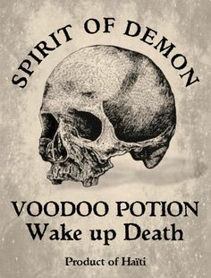 PRINTABLE: Voodoo Potion Label. Mardi Gras Voodoo Masquerade Ball Theme Halloween Party Decorations & Ideas