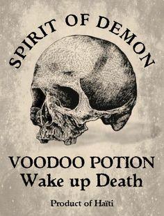 PRINTABLE: Voodoo Potion Label. Mardi Gras Voodoo Masquerade Ball Theme Halloween Party Decorations & Ideas