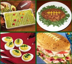 There is something more of what I can do for the guac tray for next Sunday's Super Bowl party!!!