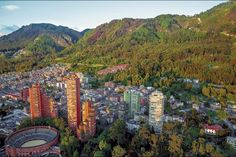 Buy Bogota and the Andes Mountains by on PhotoDune. A view of the center of Bogota with the Andes in the background. Trip To Colombia, Colombia Travel, Argentina Travel, Voyage Air France, Andes Mountains, Day Tours, Photos Du, Stock Photos, South America