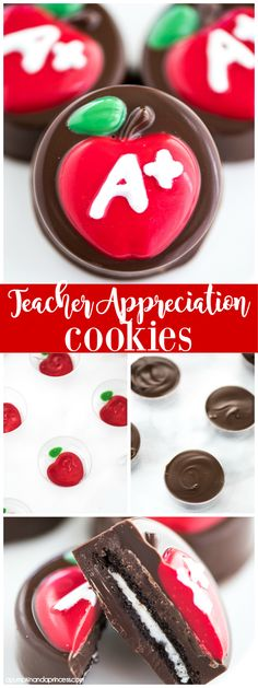 Teacher Appreciation Cookies - cute and easy teacher appreciation gift idea!