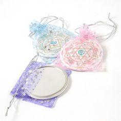 Home & Kitchen / Home Goods / Magic Circle Tin Badge Mirror