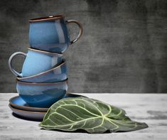Bol Villa Collection, Blue, 310 ml, 261220 Villa, Mugs, Colors, Tableware, Kitchen, Blue, Inspiration, Collection, Home Decor