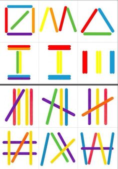 Polo sticks More – Today Pin The Montessori Geometric SticksPopsicle Sticks Shapes – Building Shapes with…Popsicle Sticks Shapes – Formen bauen mit…Hands-On Chinese Learning: Counting with Craft Sticks Motor Skills Activities, Preschool Learning Activities, Toddler Activities, Preschool Activities, Kids Learning, Dinosaur Activities, Educational Activities, Busy Boxes, Craft Stick Crafts