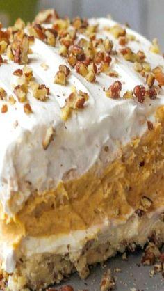 Layered Pumpkin Dessert