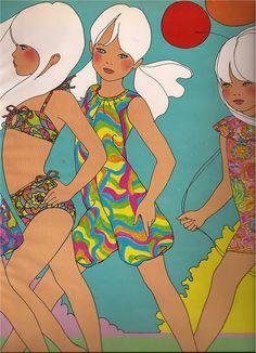 Antonio Lopez  Fashion Illustration  Children Illustration