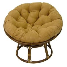 Brookstone Rattan Papasan Chair with...   $159.99