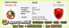 Prediksi Skor Bola Semen Padang vs PSM 8 Jun 2017 Liga 1 Stadion GOR Haji Agus Salim (Padang) pada hari Kamis jam 20:30