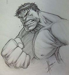 Dale Keown - The Hulk - by Dale Keown -  Comic Art °°