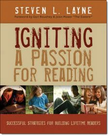 Igniting a Passion for Reading by Steven Layne and other great books for Reading Workshop! Click book cover in sidebar to learn more and read recommendations online.