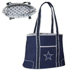 NFL Dallas Cowboys Hampton Bag on amazon today for just $25.00 & eligible for FREE Super Saver Shipping find it here http://amzn.to/15gzg2j