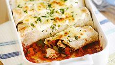 Tasty chicken enchilada image