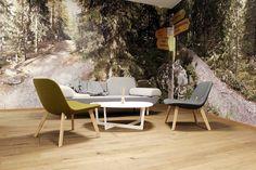 Erik Jörgensen Eyes lounge / insula table/ Towards sofa